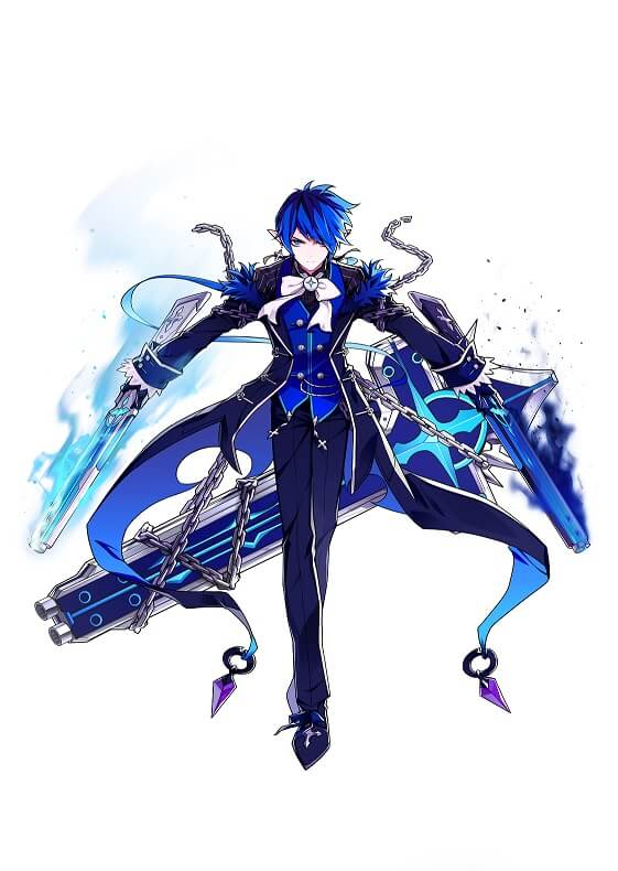 Elsword: Ciel Job Path Royal Guard