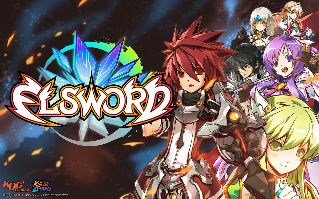 Elsword's Luciel Gets Second Job Class
