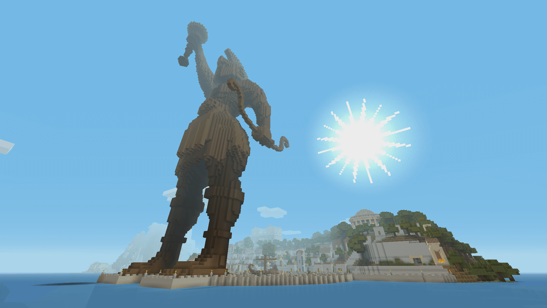 Minecraft Greek Mythology DLC And Update Available Now