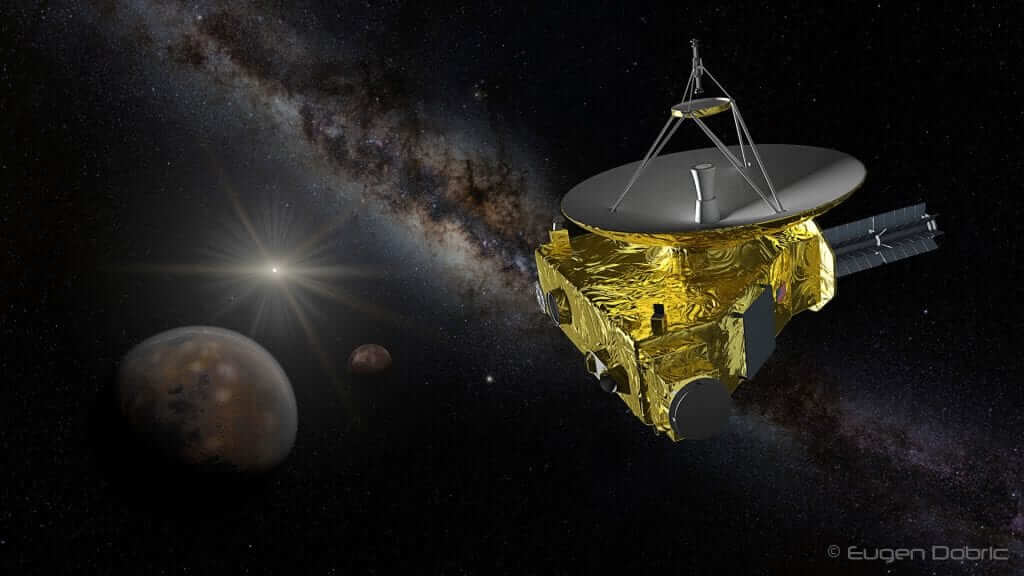 NASA's New Horizons Probe Completes First Pluto Flyby