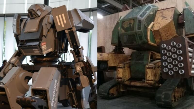 USA and Japan to Square-Off in Giant Robot Battle