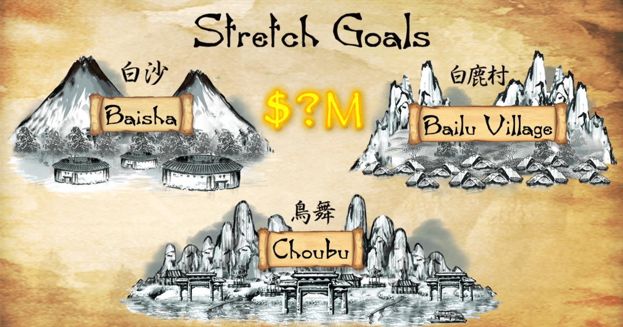 Shenmue 3's stretch goals focused on including new areas for players to explore.