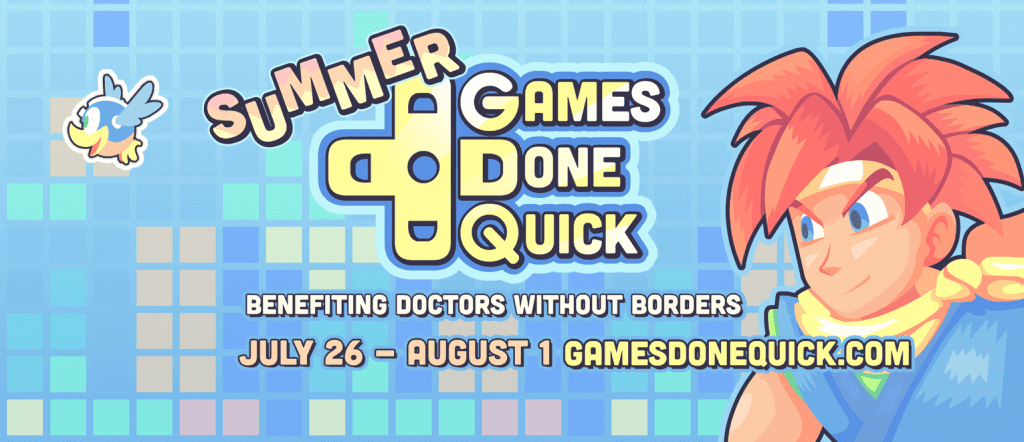 Summer Games Done Quick 2015 Starts Today