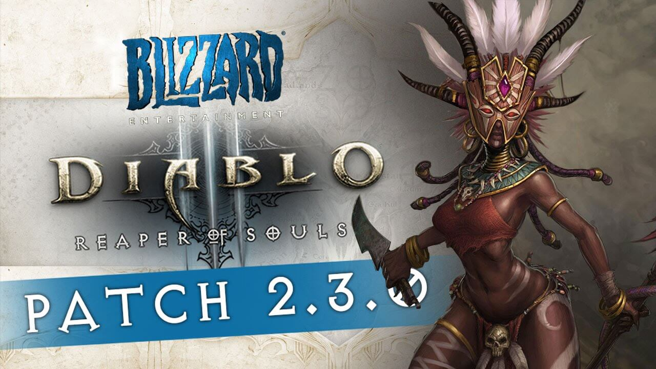 Diablo 3 Patch 2.3 Almost Here!