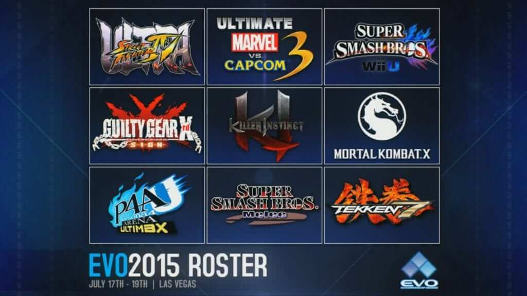 Fighting Game Tournament EVO 2015 has Begun