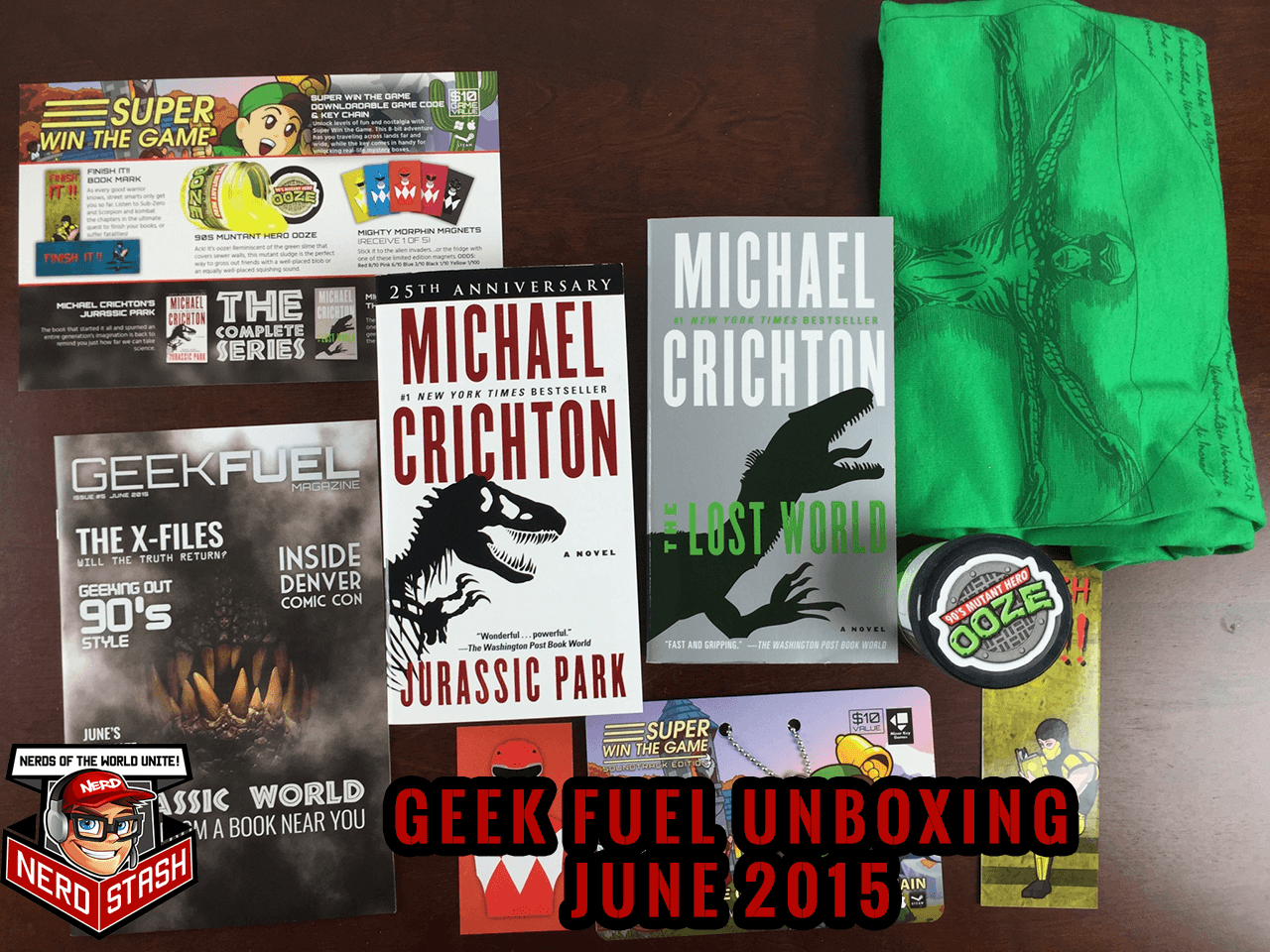 Geek Fuel - June 2015