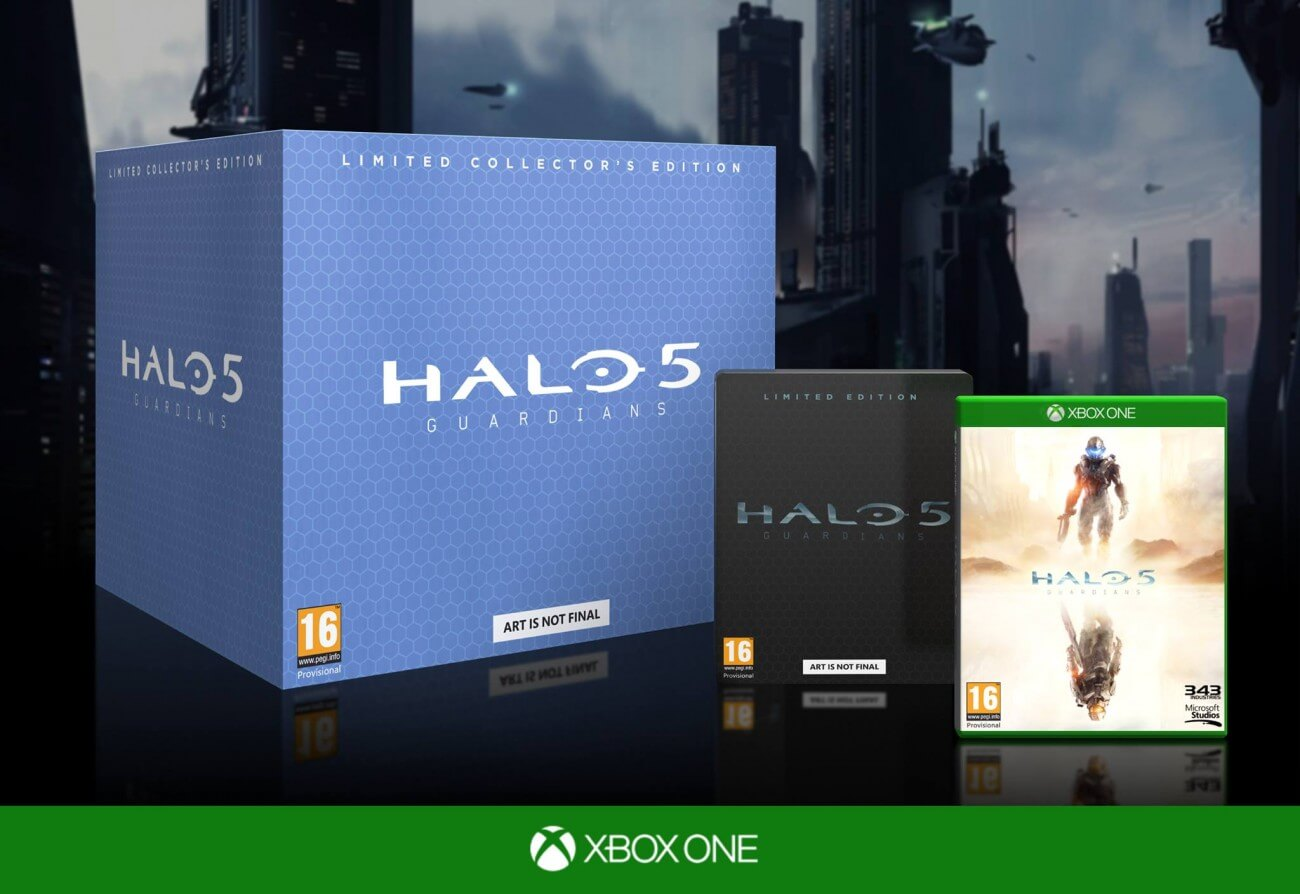 Trade Your Collectors Edition Halo 5 Code For A Disk