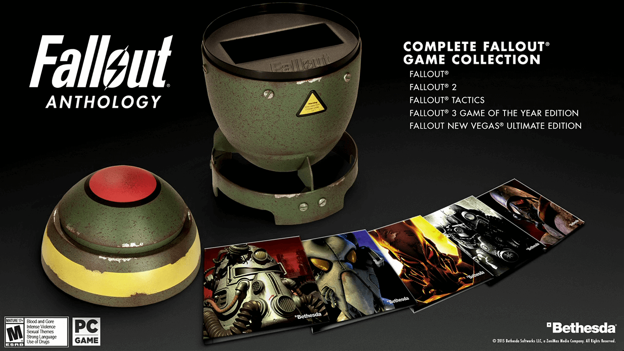 Fallout Anthology Releases On Sept. 29 For PC