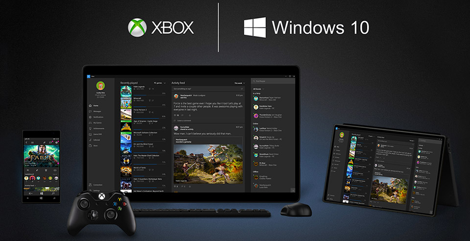 Windows 10 Supports Xbox One Streaming