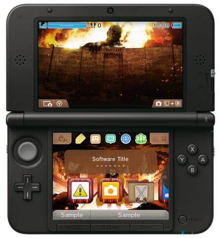 But you get a cool 3DS background if you buy it.