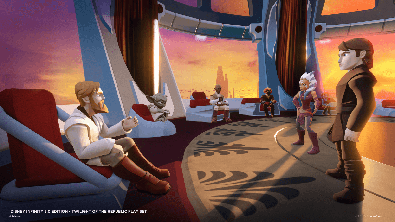 Disney Infinity: Twilight of the Republic Gameplay