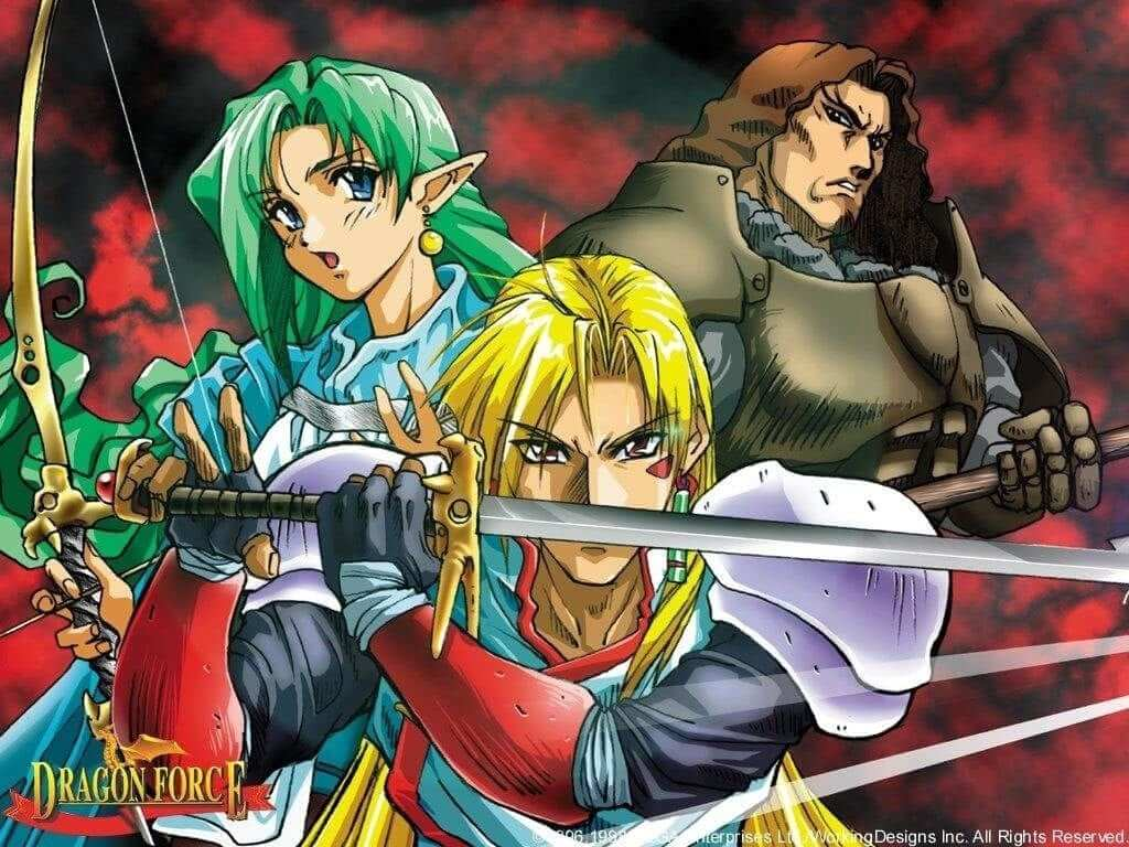 Retro Review: Dragon Force