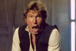 han solo scared
