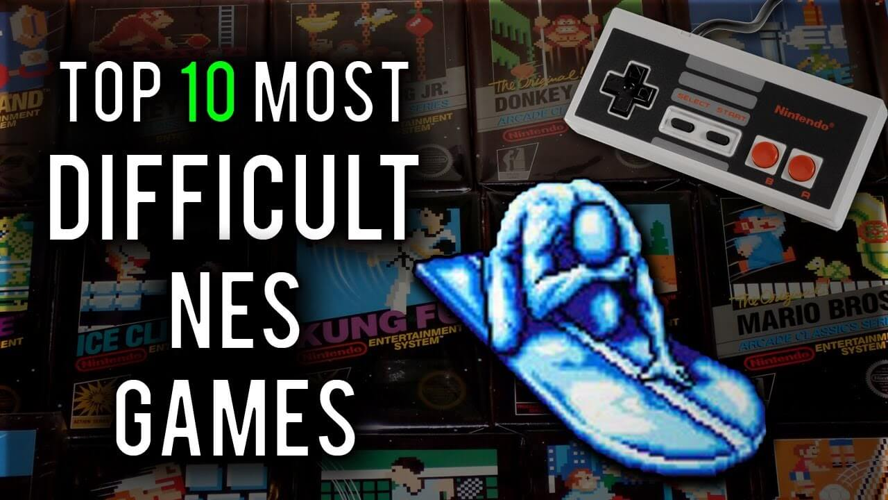 The Top 10 Most Difficult NES Games