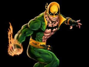 Why is he called Iron Fist? He very obviously has fleshy fists.