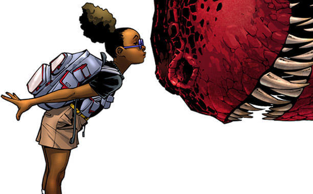Meet Moon Girl And Devil Dinosaur