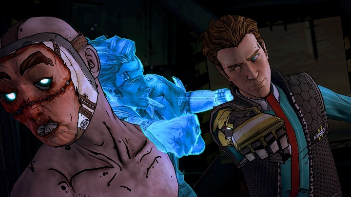 The adventure of Rhys and Fiona continue in Tales from the Borderlands: Episode 4.