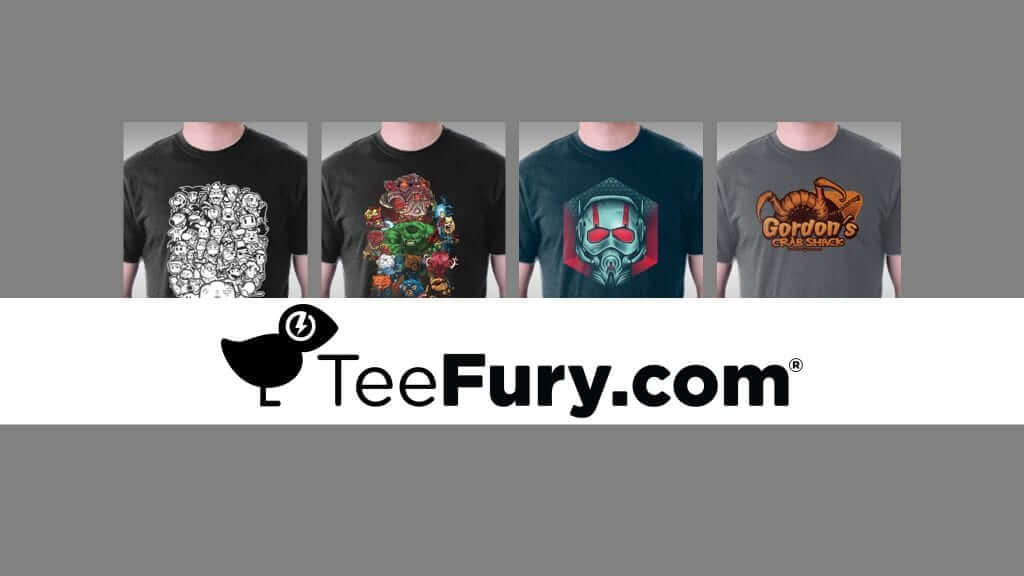 TeeFury.com - More Than a T-Shirt Store