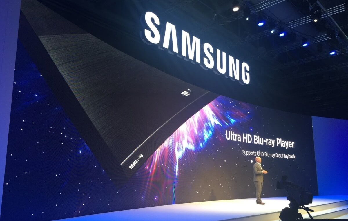 Samsung Announces Ultra HD Blu-Ray Player