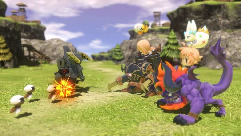 World of Final Fantasy Screenshots Released