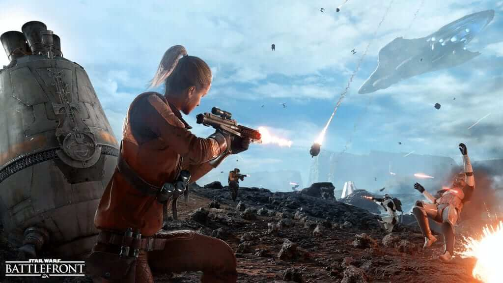Star Wars Battlefront Alpha Footage Leaked