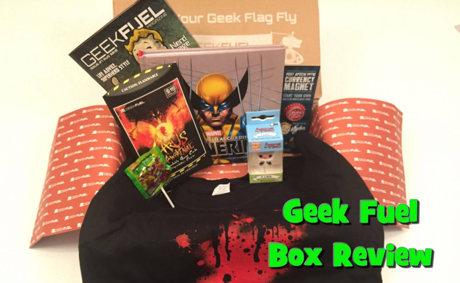 Geek Fuel Unboxing & Review: August 2015