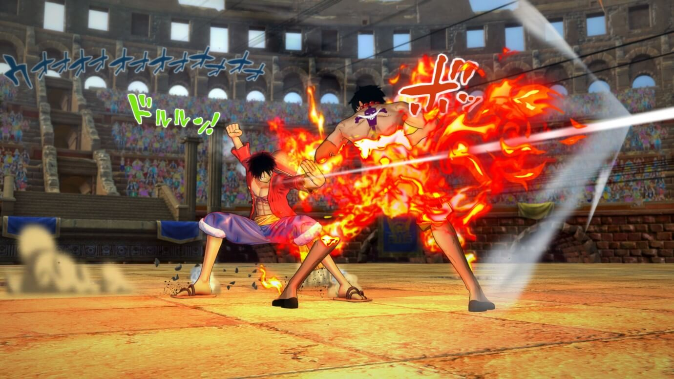 One Piece: Burning Blood in Action