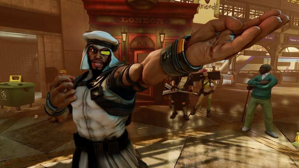 New Street Fighter V Character Rashid Revealed