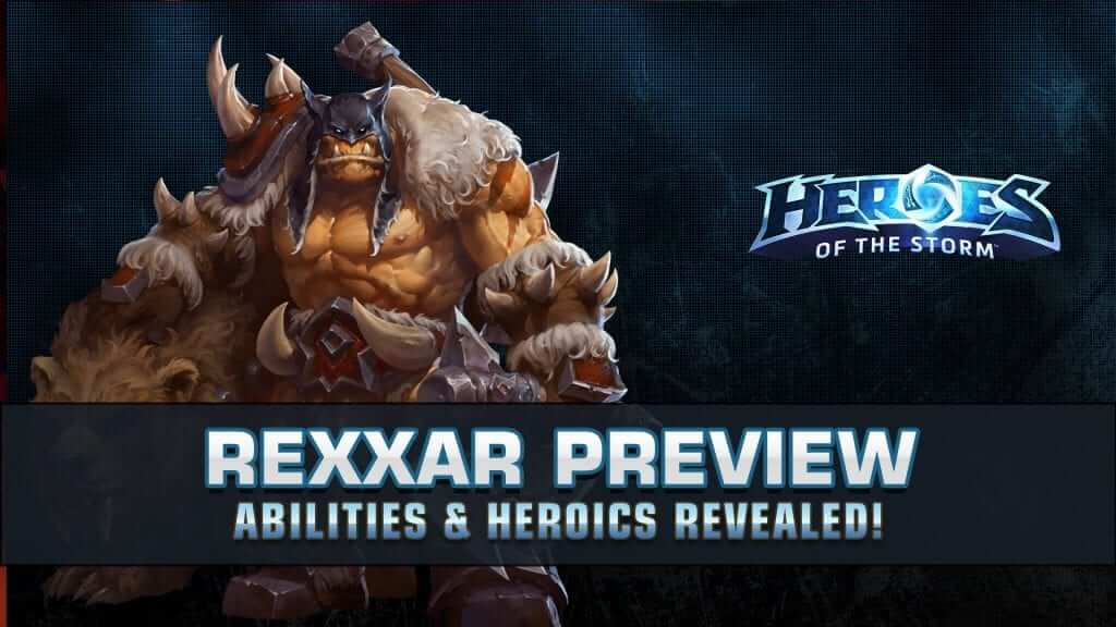Heroes of the Storm: Rexxar In Action