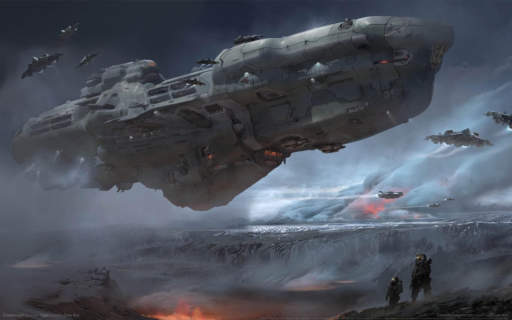 Preview: Epic Space Combat Game Dreadnought