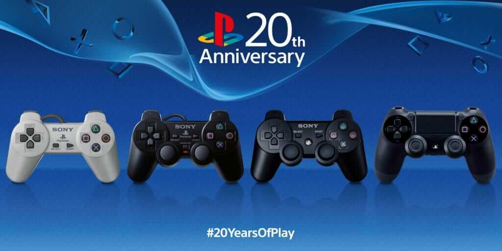 PlayStation Celebrates 20th Birthday