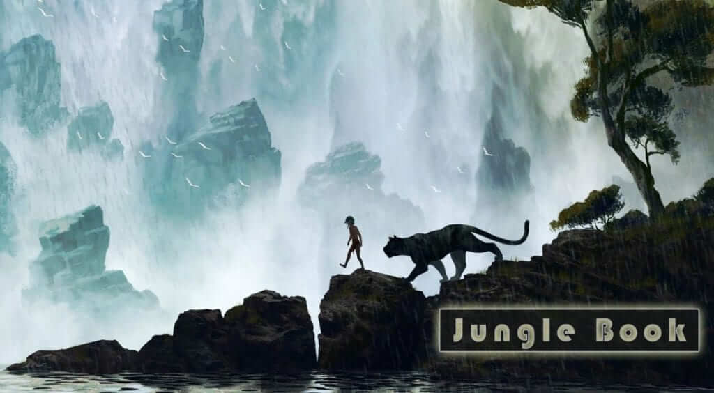 Live Action Jungle Book Trailer Released