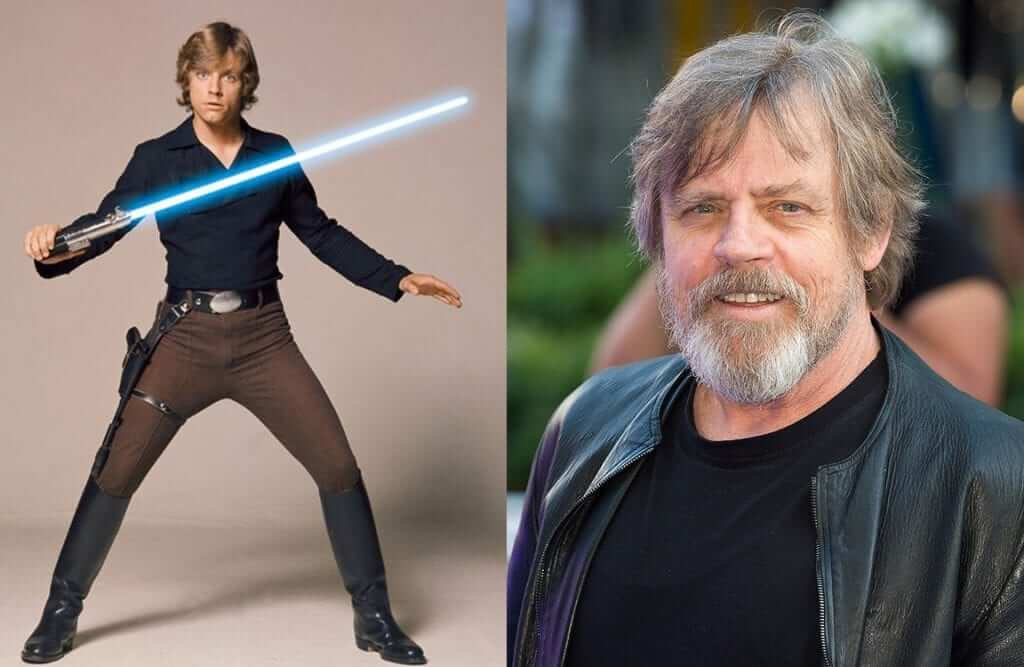 Mark Hamill On The Set Of Star Wars: Episode VIII