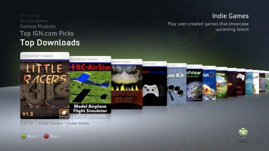 Say goodbye to all the ridiculous and fun games of Xbox Live Indie Games.