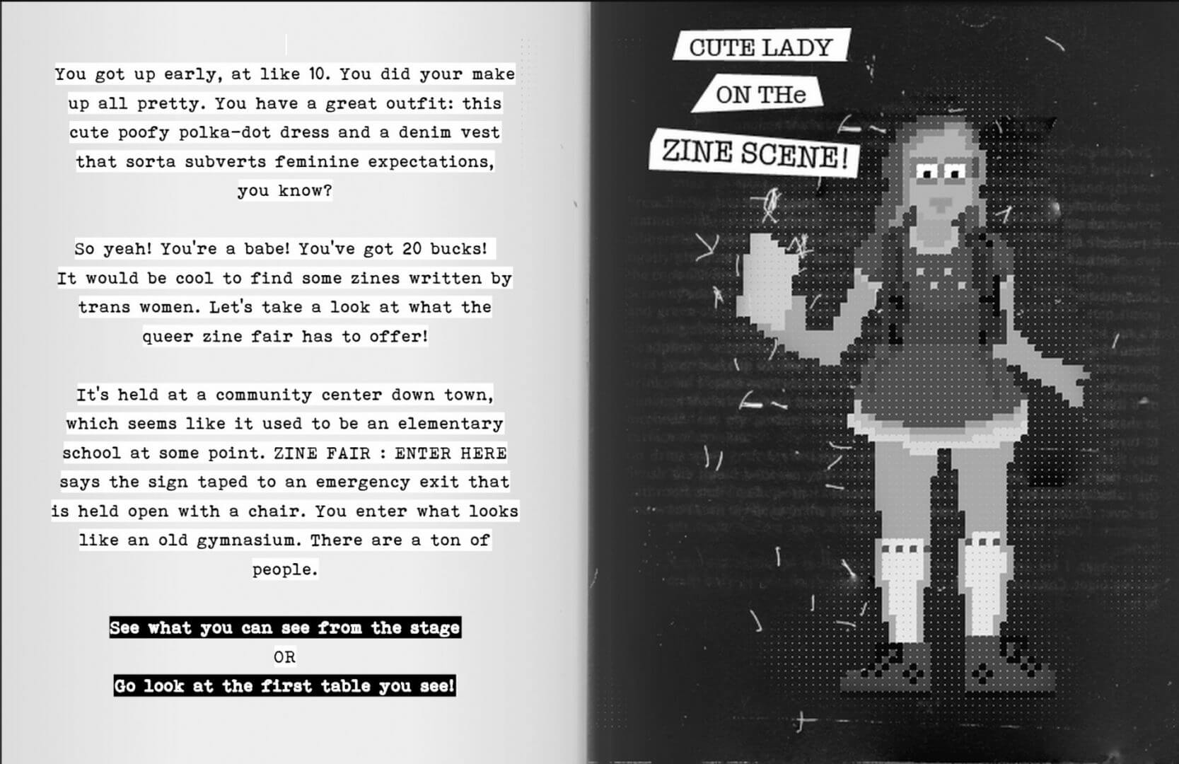 Check Out This Game: Zine Fair Lady