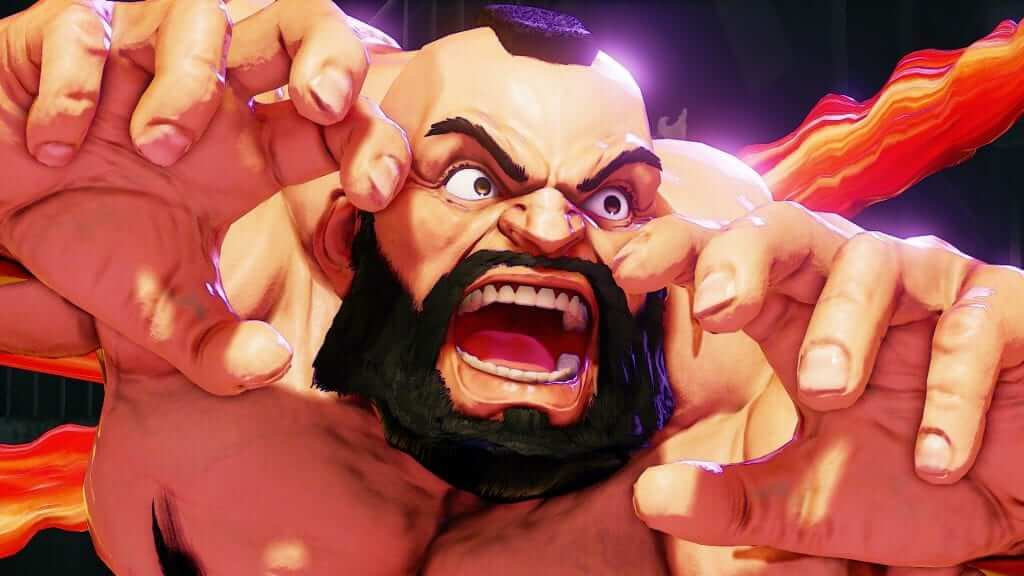 Zangief Grapples His Way Into Street Fighter V