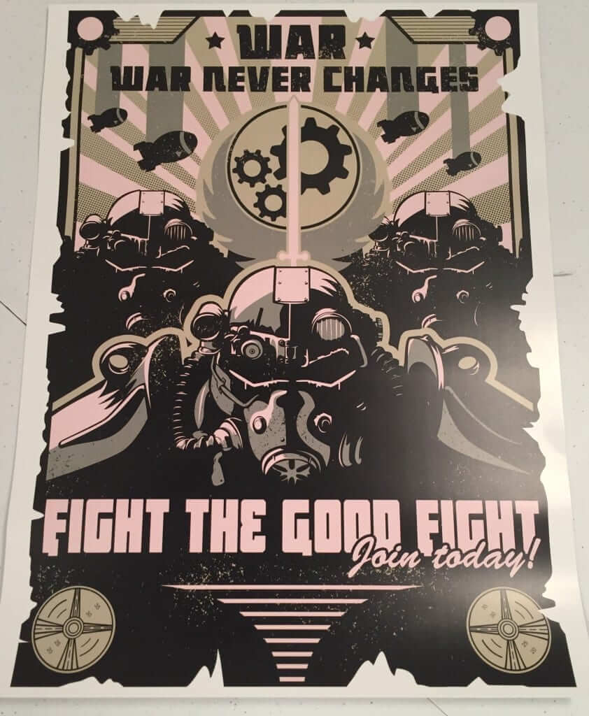 """War Never Changes"" by AUTOSAVE"