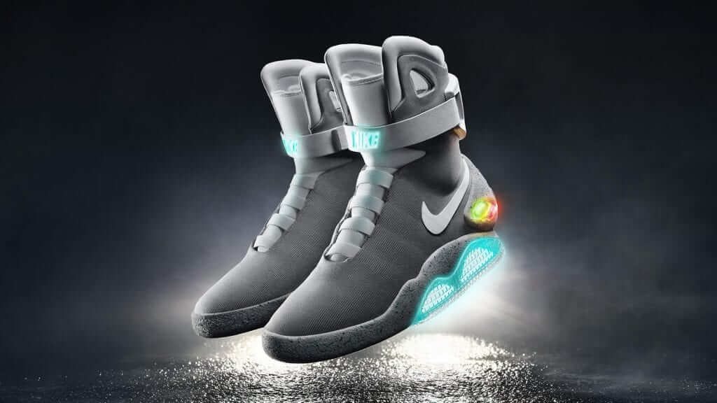 Nike Officially Debut Back to the Future Self-Lacing Shoes