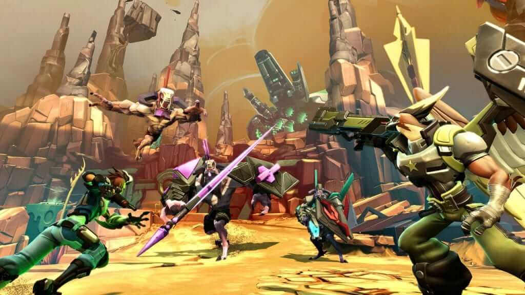 Battleborn Multiplayer Reveal Trailer