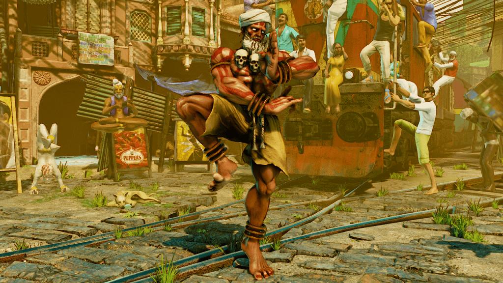 Dhalsim Confirmed for Street Fighter V