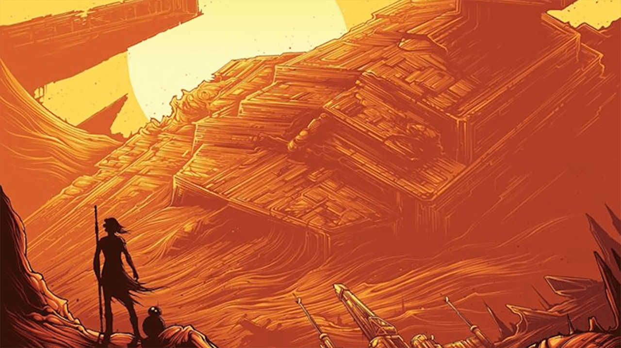 AMC Theaters Reveals New The Force Awakens Poster