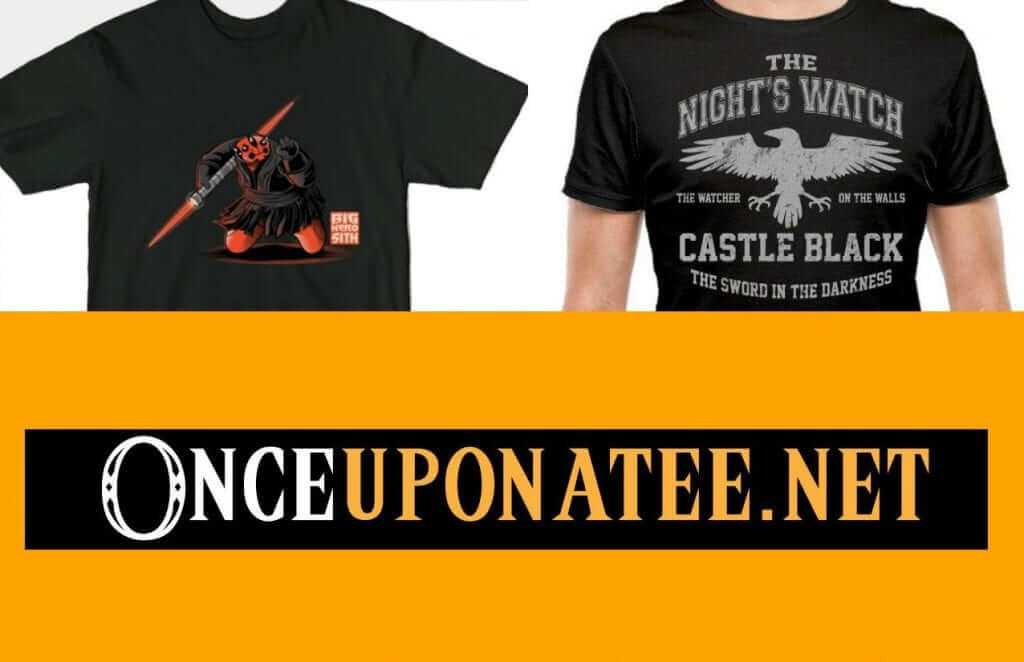 OnceUponATee: Mashup Shirts For Cheap!