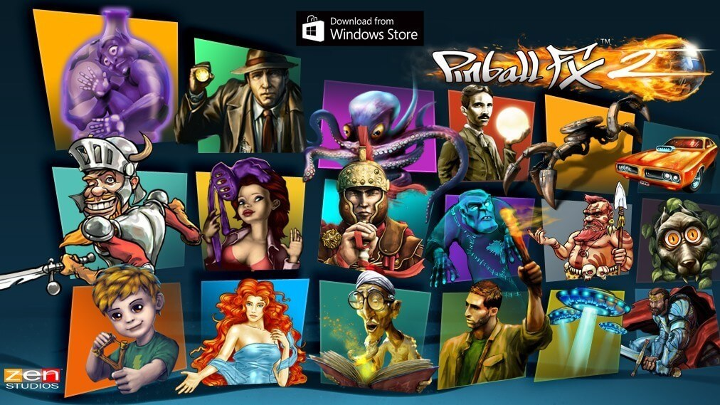 Pinball FX2 Windows 10 Edition Now Available
