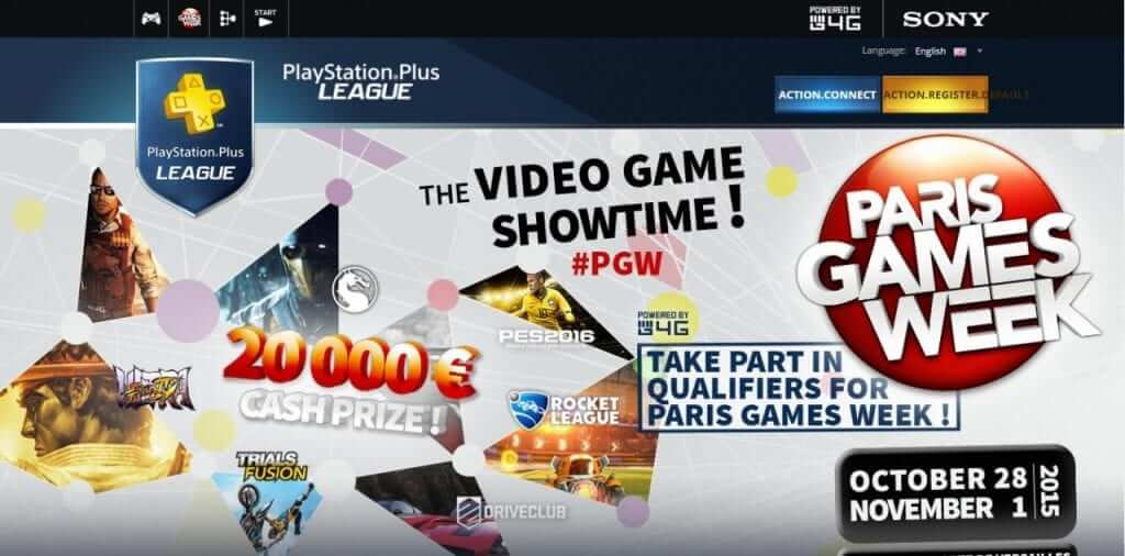 Playstation Plus League - eSports for Your Console