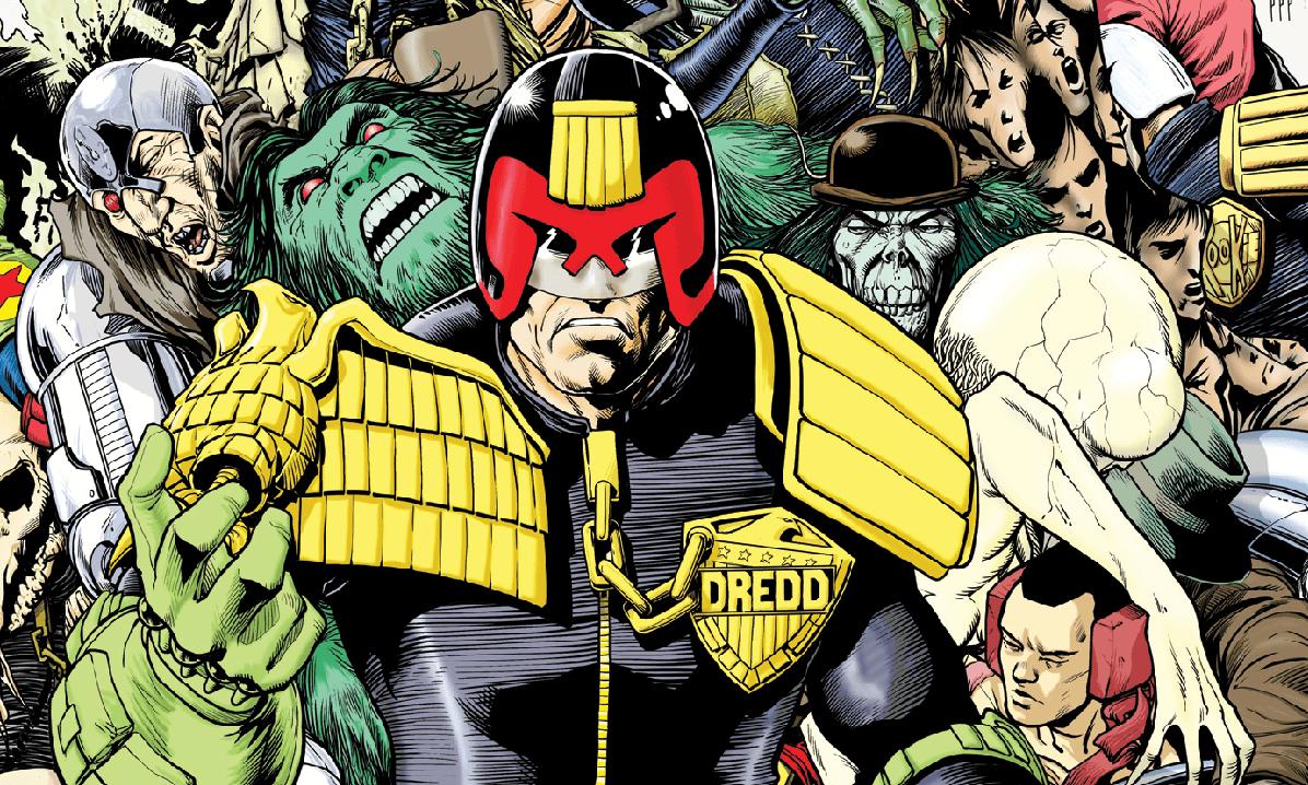 Judge Dredd Megazine Celebrates 25th Anniversary