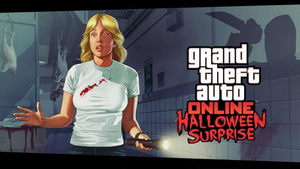 Grand Theft Auto Online Halloween Surprise