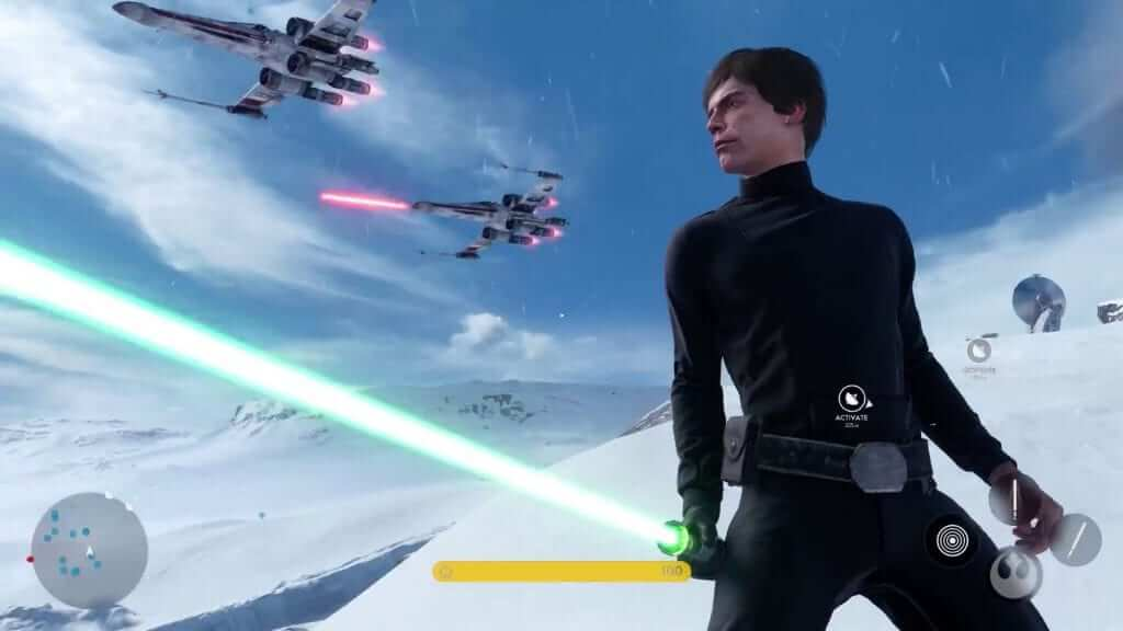 Luke Skywalker Meets Untimely End in Star Wars Battlefront