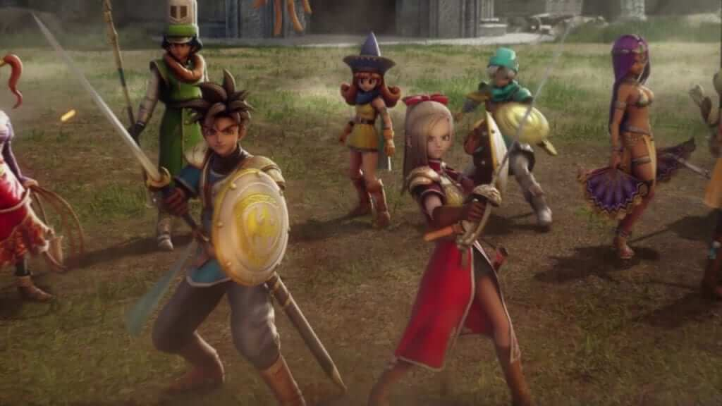 Dragon Quest Heroes Now Available for PS4