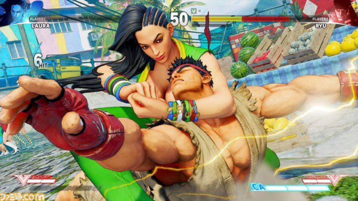 Street Fighter V: New Character Laura Leaked