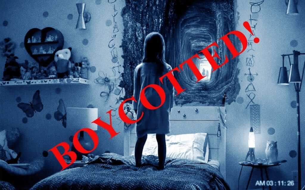 Theaters Boycotting Paranormal Activity: The Ghost Dimension